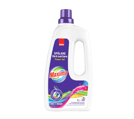 Sano Maxima Power Gel Mix&Wash 1L