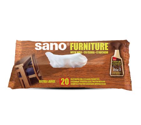 Sano Mobilă - Șervețele umede