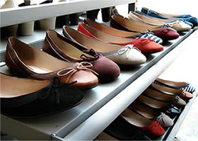 Organizarea dulapului de pantofi