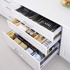 Cum să organizăm sertarele dezordonate